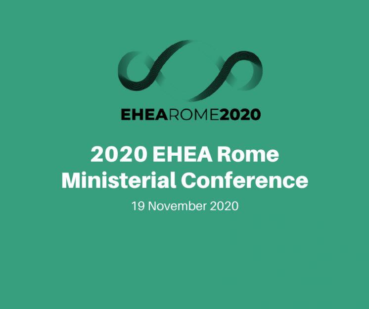 2020 EHEA Rome Ministerial Conference